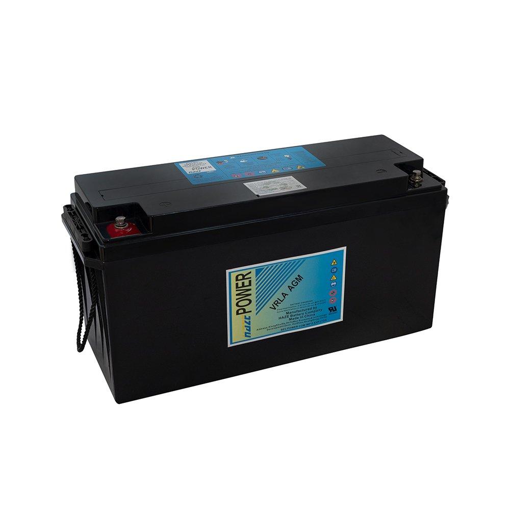 Bateria Chumbo Ácida AGM VRLA – Haze Battery – HHMA12-150