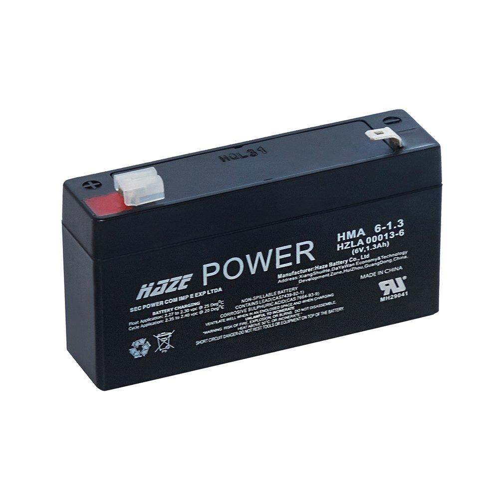 Bateria de Chumbo Ácida AGM VRLA – Haze Battery – HMA 6-1.3