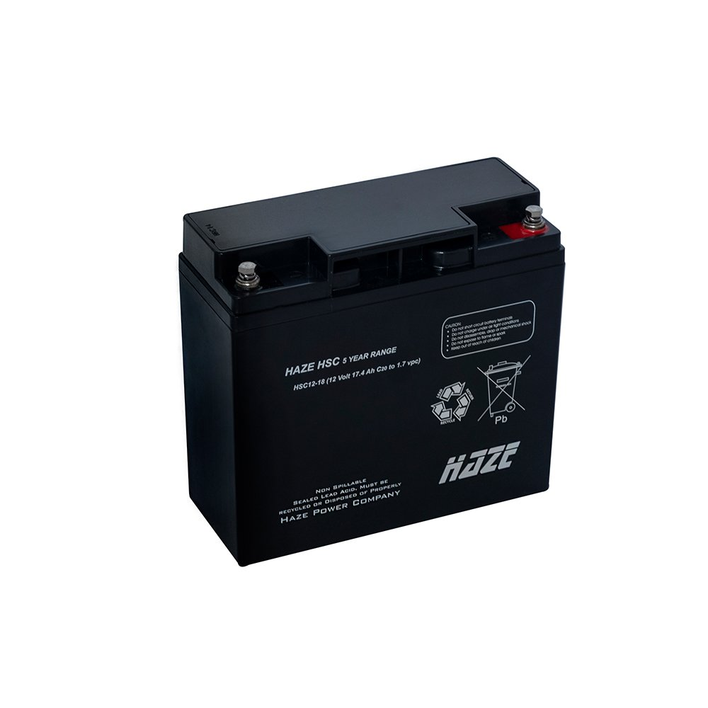 Bateria de Chumbo Ácida AGM VRLA – Haze Battery – HSC12-18