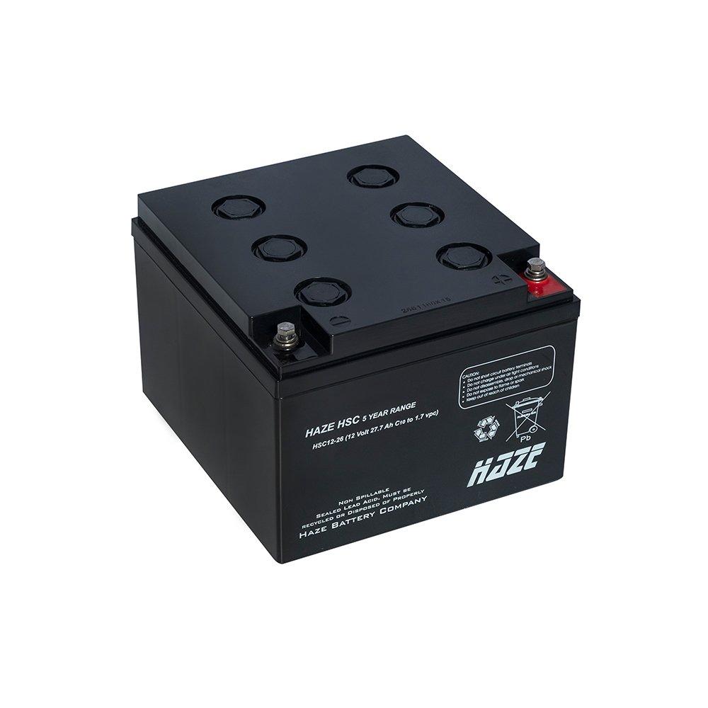 Bateria Chumbo Ácida AGM VRLA – Haze Battery – HSC12-26