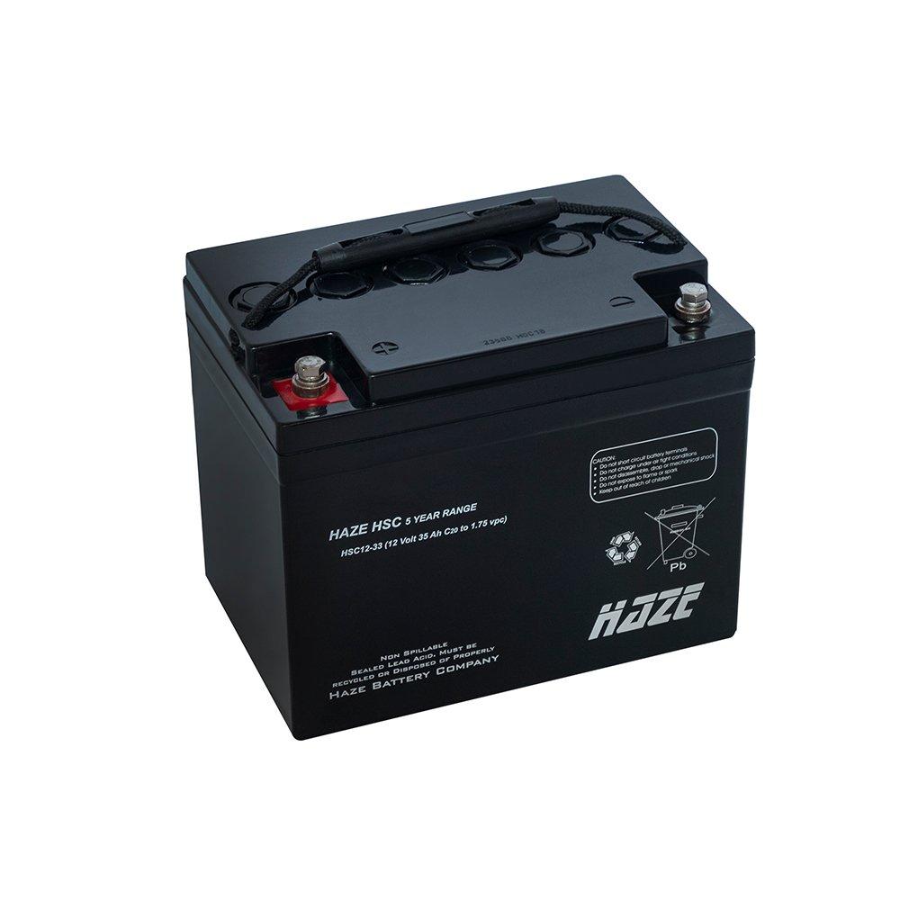 Bateria Chumbo Ácida AGM VRLA – Haze Battery – HSC12-33