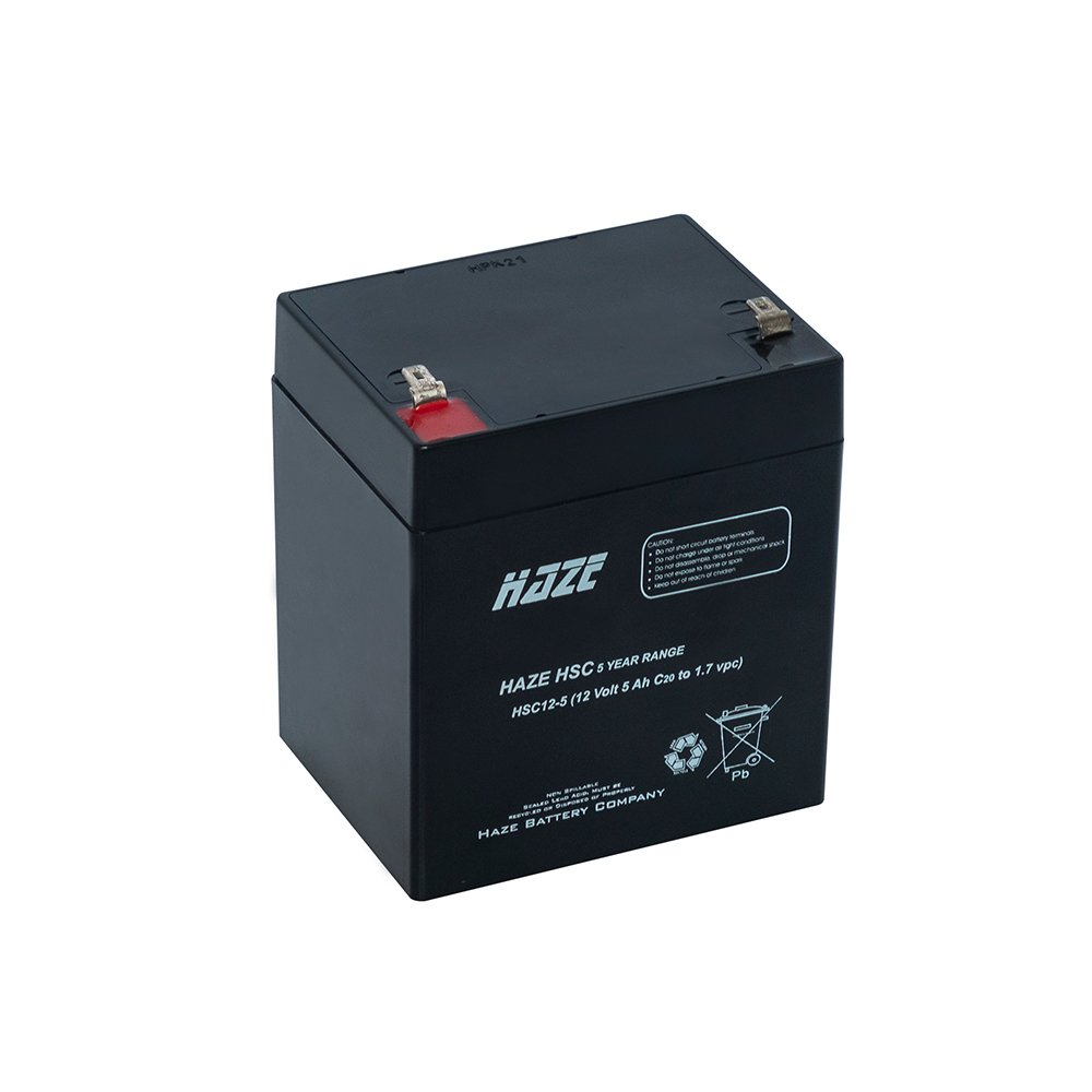 Bateria Chumbo Ácida AGM VRLA – Haze Battery – HSC12-5