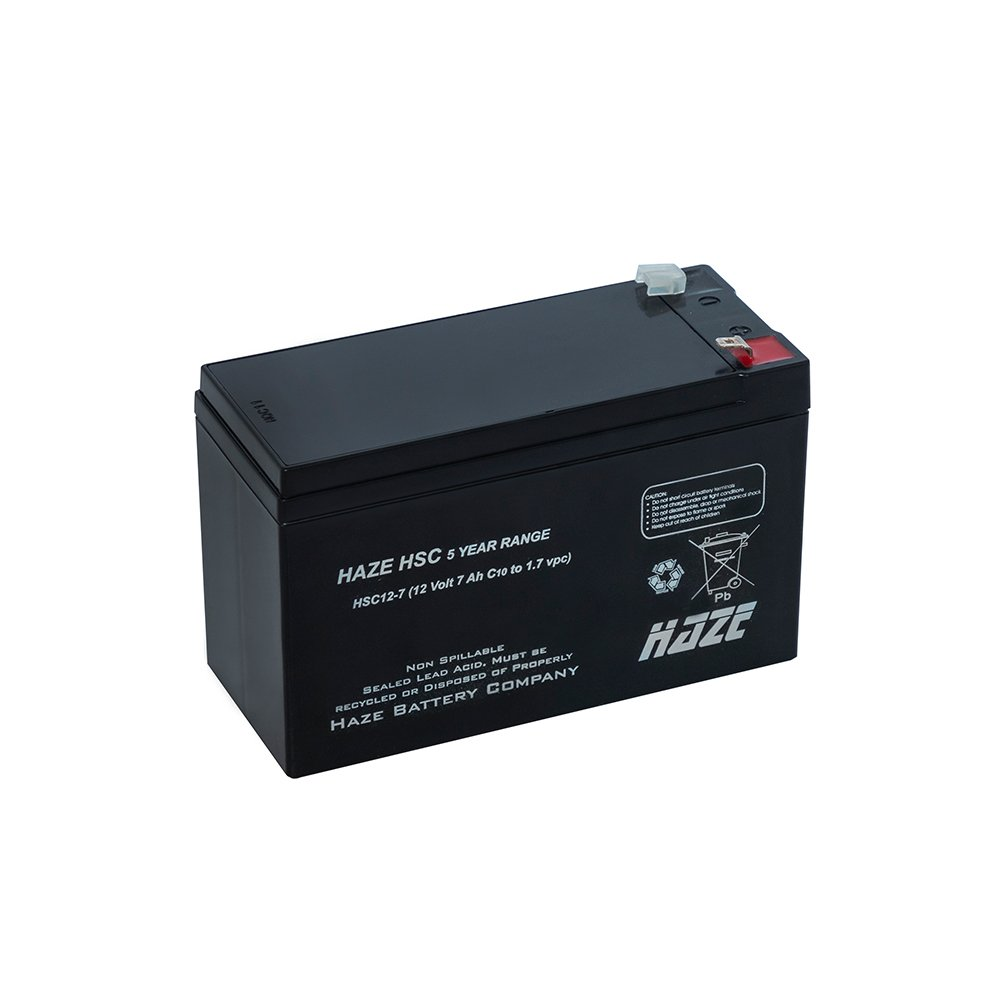 Bateria Chumbo Ácida AGM VRLA – Haze Battery – HSC12-7