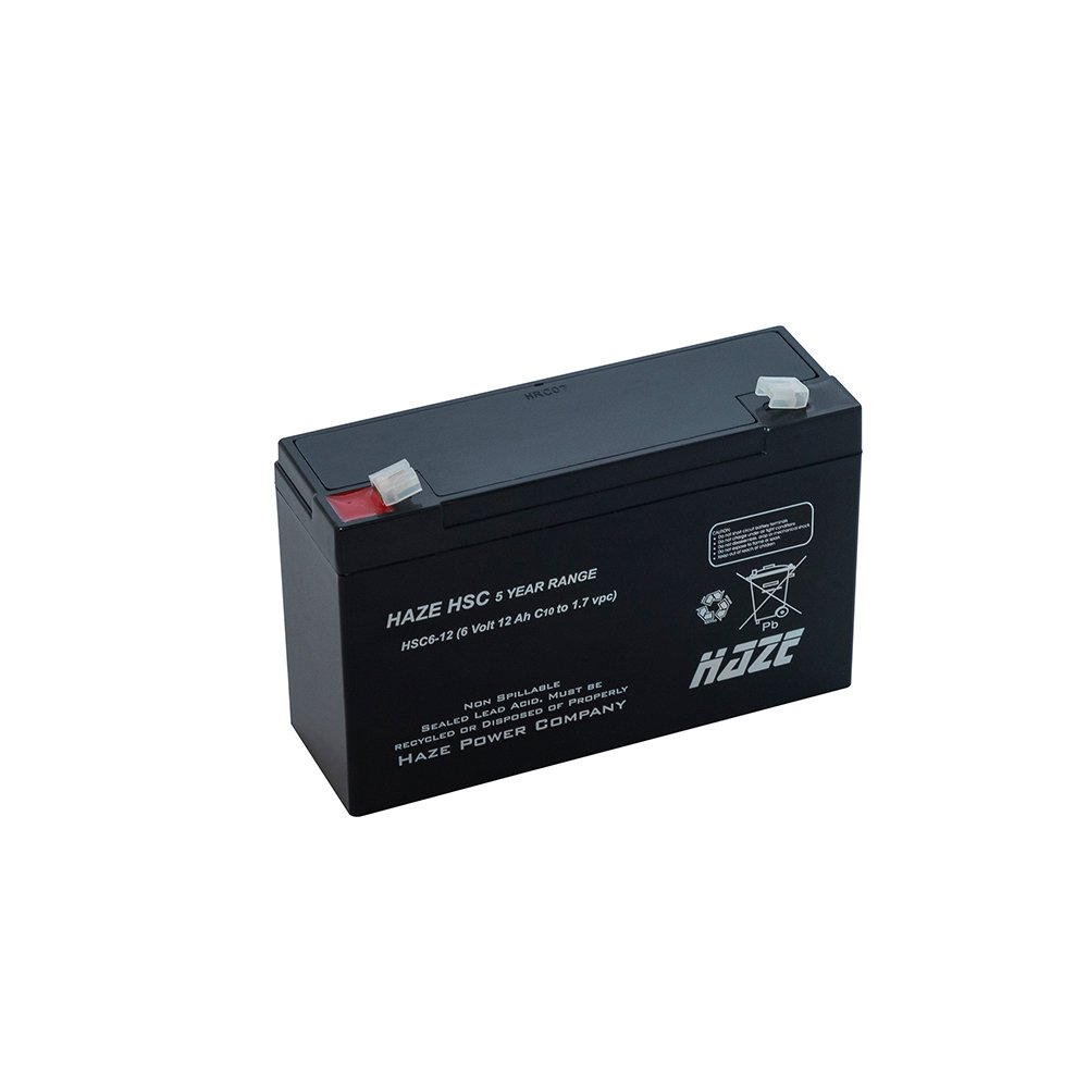 Bateria Chumbo Ácida AGM VRLA – Haze Battery – HSC6-12