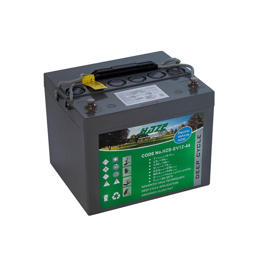 Bateria Chumbo Ácida AGM VRLA – Haze Battery – HZB – EV12-44