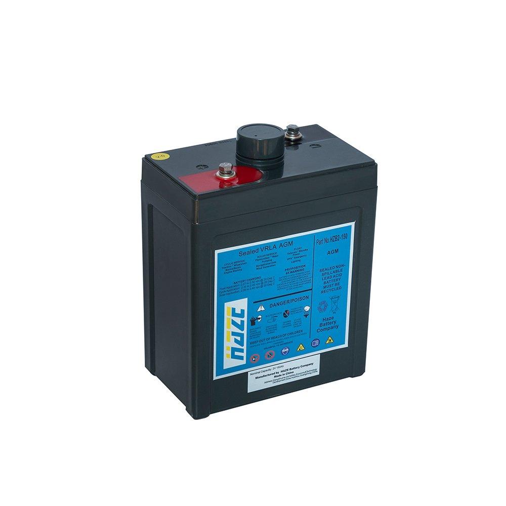 Bateria Chumbo Ácida AGM VRLA – Haze Battery – HZB 2-150