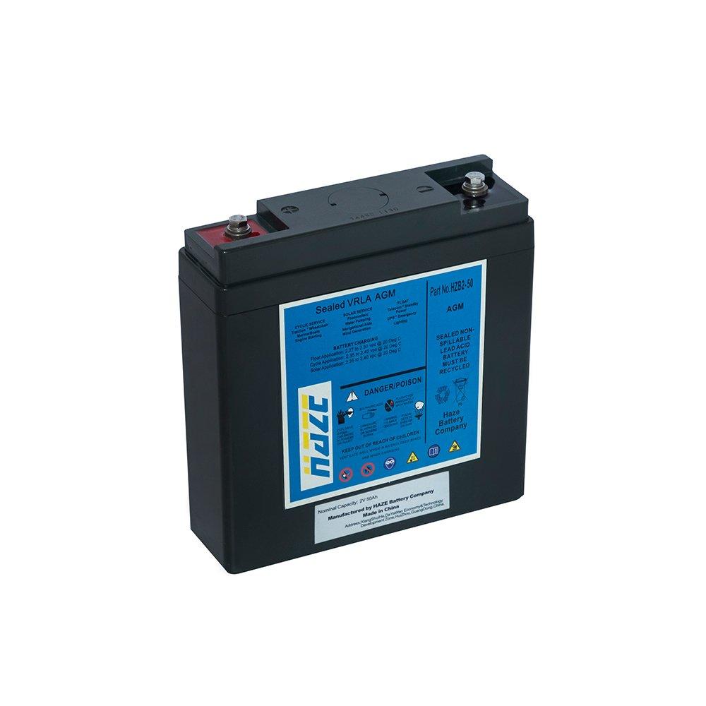 Bateria Chumbo Ácida AGM VRLA – Haze Battery – HZB 2-50