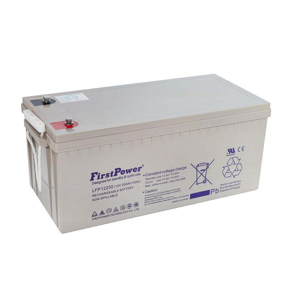 Bateria de Chumbo Ácida AGM VRLA – First Power – LFP 12-200