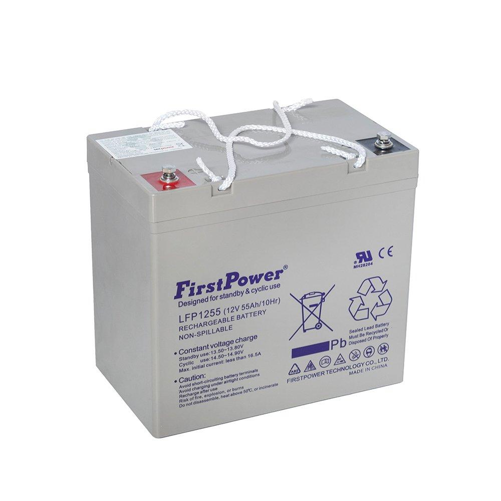 Bateria de Chumbo Ácida AGM VRLA – First Power – LFP 12-55