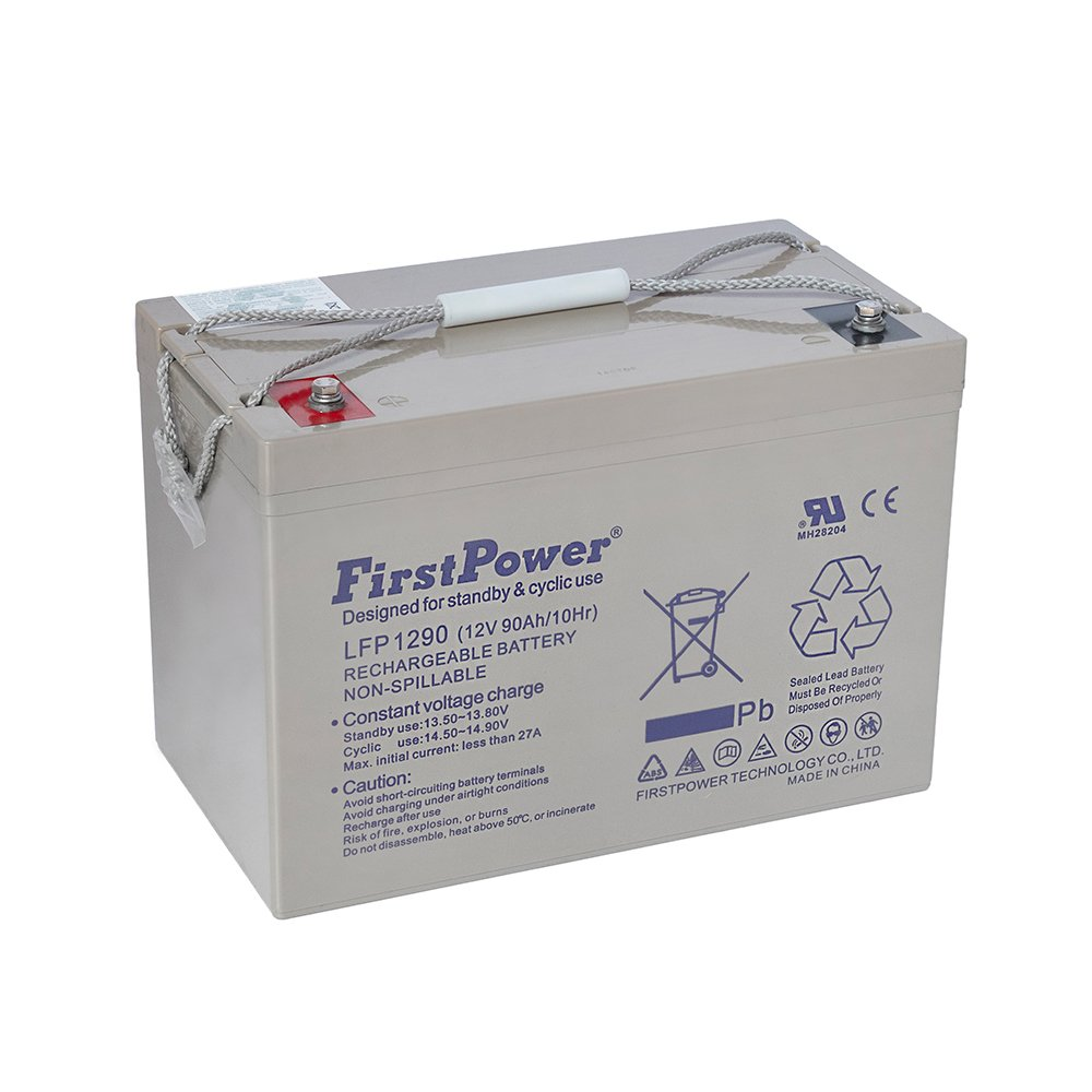 Bateria de Chumbo Ácida AGM VRLA – First Power – LFP 12-90