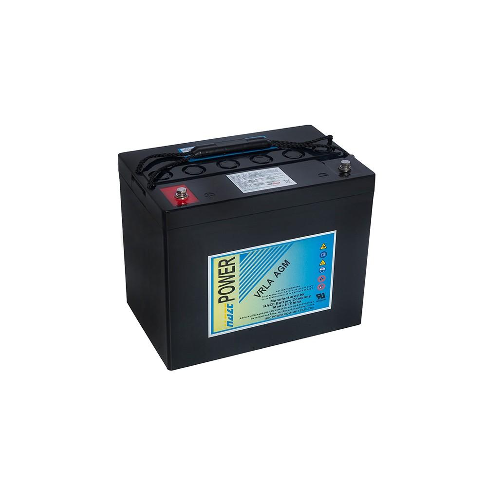 Bateria Chumbo Ácida AGM VRLA – Haze Battery – HMA12-80
