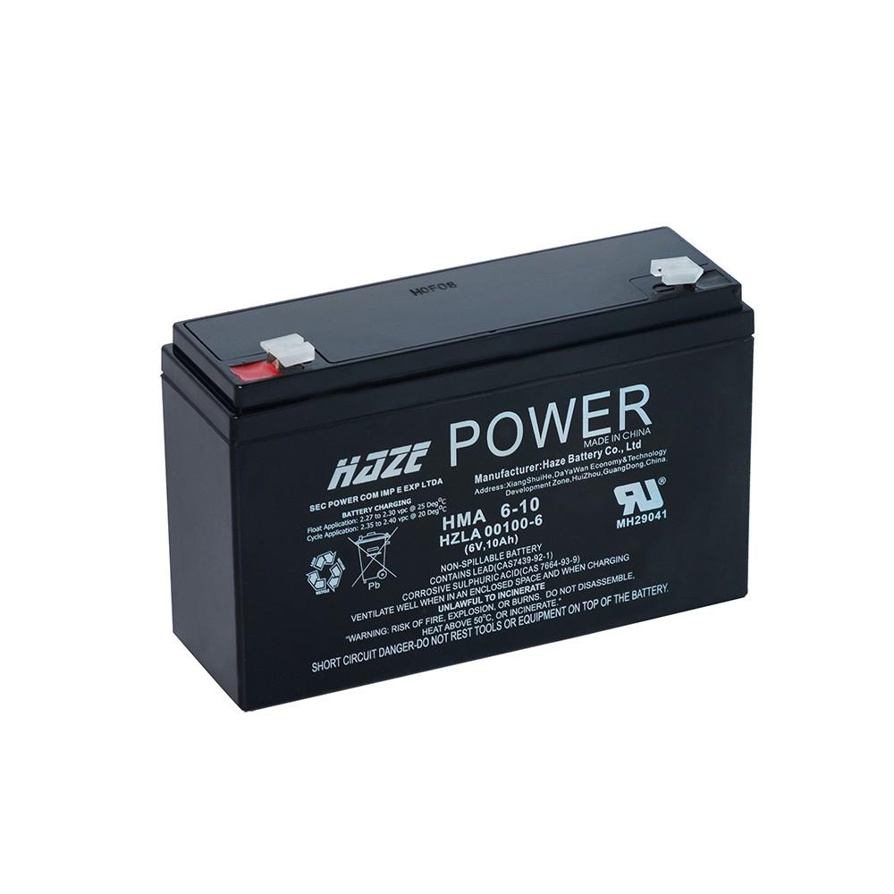 Bateria Chumbo Ácida AGM VRLA – Haze Battery – HMA 6-10